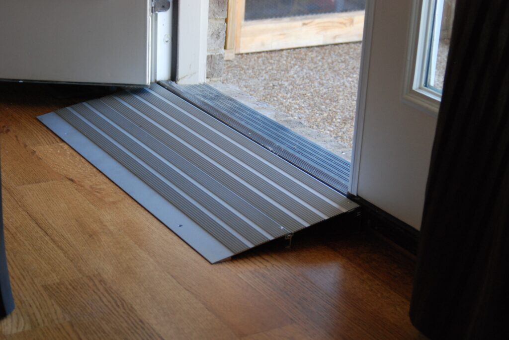 Next Day Access December 2020 Blog 4 A Threshold Ramp Can Make a Big Difference for Your Holiday Guests