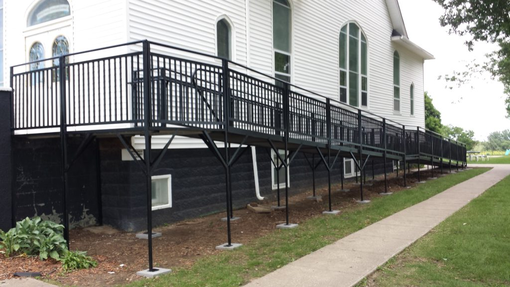 church wheelchair ramp