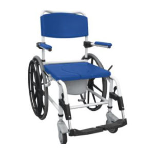 Shower Commode chair Drive Medical 2 squared